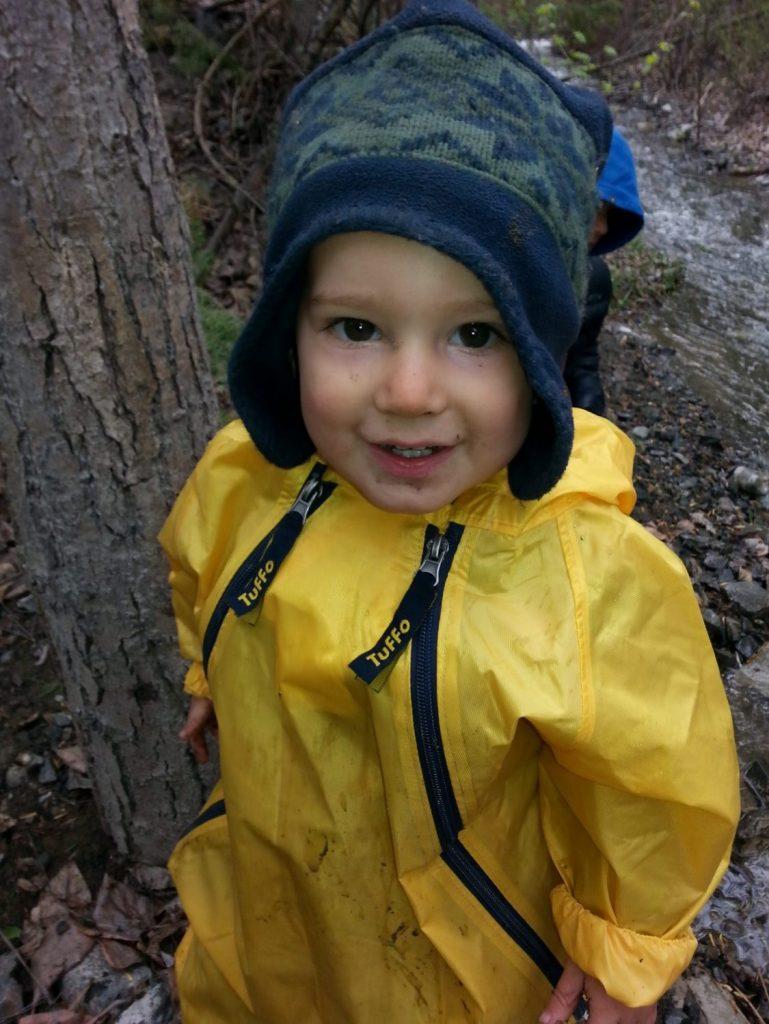 Toddler Outdoors Kamloops