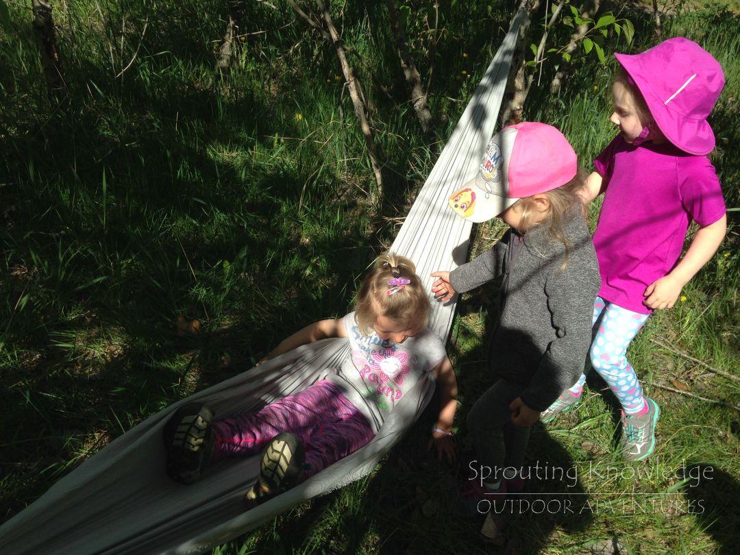 Hammocks, Knapweed, Ropes and Rainbows