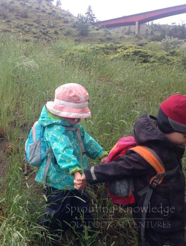 Rain, puddles, mud and magic