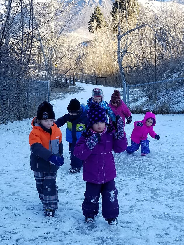 Winter wonderland in February?