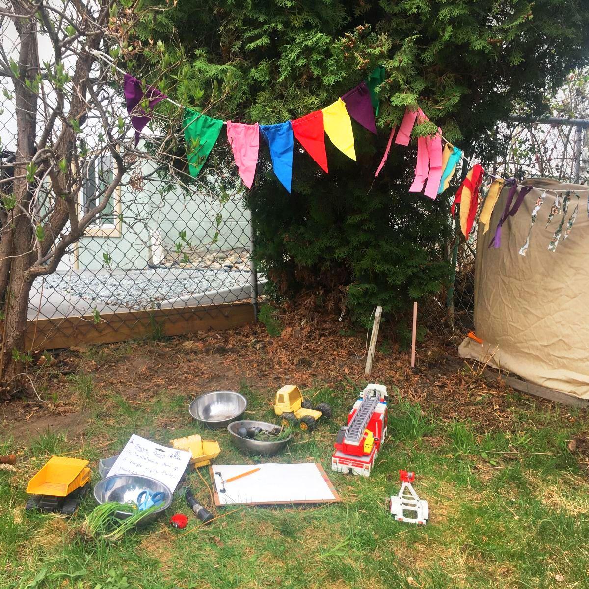 Backyard Tea Party